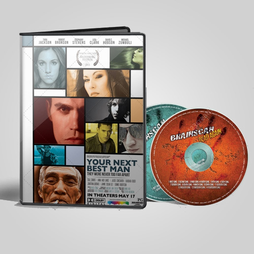 diseño gráfico de portada de dvd y cd